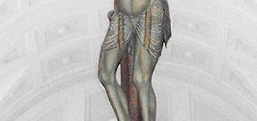 Giovanni da Gaeta, Croce sagomata con Cristo crocifisso e la Maddalena, sec. XV, Tempera su tavola, Gaeta, basilica cattedrale