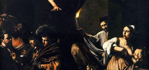 Michelangelo Merisi da Caravaggio, Le sette opere di misericordia, olio su tela, 1607, Napoli, chiesa del Pio Monte della Misericordia