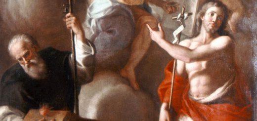 Anselmo Palmieri (attr.), Madonna di San Luca, olio su tela, XVIII sec., Lagonegro (Potenza), chiesa del Rosario