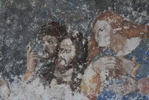 Anonimo, Ultima Cena (copia da Leonardo), part.