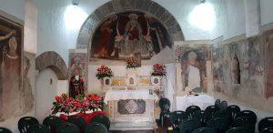 Cappella di Sant'Antonio Abate a Capodrise, veduta dell'interno