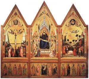 Giotto, Polittico Stefaneschi, tempera e oro su tavola, 1320, Città del Vaticano, Pinacoteca Vaticana