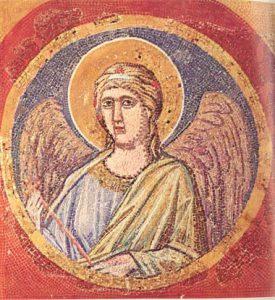 Giotto, Angelo, 1305-1320, Città del Vaticano, Grotte Vaticane
