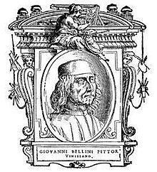 Ritratto di Giovanni Bellini, tratto da Giorgio Vasari, Le vite dei più eccellenti pittori, scultori ed architetti