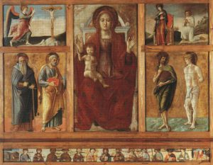 Giovanni Bellini (attr.), Polittico di Genzano, 1473-1474, Genzano di Lucania (Potenza), chiesa di Santa Maria della Platea