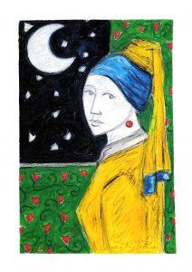 Francisco Garden, La ragazza con l'orecchino di perla