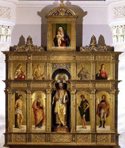 Cima da Conegliano, Polittico di Olera, 1486-1488 ca., Olera (fraz.di Alzano Lombardo), chiesa parrocchiale di San Bartolomeo Apostolo