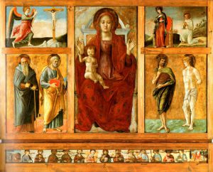 Giovanni Bellini, Polittico di Genzano di Lucania, 1473-1474, Genzano di Lucania, chiesa di Santa Maria della Platea