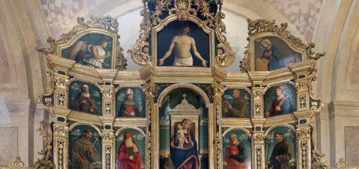 Cima da Conegliano, Polittico di Miglionico, 1499, Miglionico (Matera), chiesa madre di Santa Maria Maggiore
