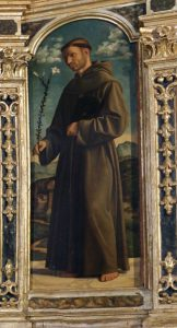 Cima da Conegliano, Polittico di Miglionico, part. del Sant'Antonio di Padova