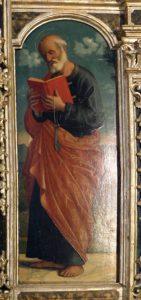 Cima da Conegliano, Polittico di MIglionico, part. del San Pietro