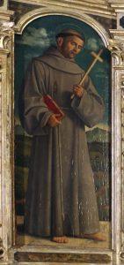 Cima da Conegliano, Polittico di Miglionico, part. del San Francesco