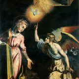 Giovanni De Gregorio detto il Pietrafesa, Annunciazione, 1612, Potenza, chiesa di San Michele