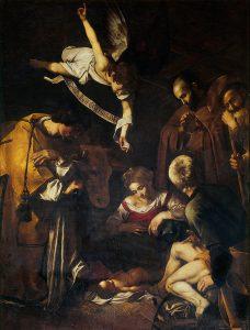Michelangelo Merisi detto il Caravaggio, Natività, 1600, già oratorio di San Lorenzo, Palermo