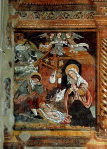 Giovanni Todisco, Natività, 1559, Anzi, chiesa di Santa Maria