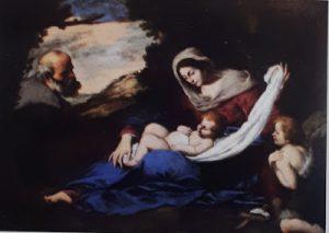 Tav. 14 - Cesare Fracanzano - Sacra Famiglia - Napoli collezione Pagliara