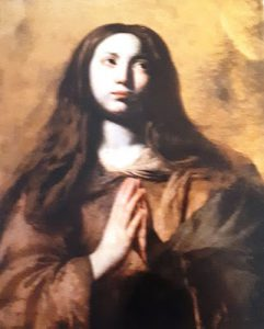 Tav. 4 - Giovanni Ricca - Santa orante - Napoli museo diocesano