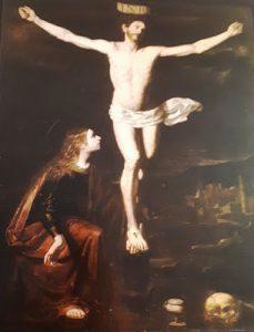 Tav. 5 - Giovanni Ricca - Cristo crocifisso con Maddalena - Napoli Museo Diocesano