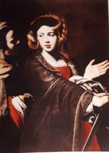 Tav. 6 - Giovanni Ricca - Giuditta con la testa di Oloferne - Salerno Museo Diocesano