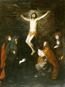 Tav. 7 - Giovanni Ricca - Crocifissione Napoli chiesa di S.Maria Apparente