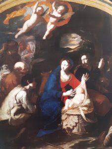 Tav. 8 - Giovanni Ricca - Adorazione dei pastori - Potenza Chiesa di S. Maria