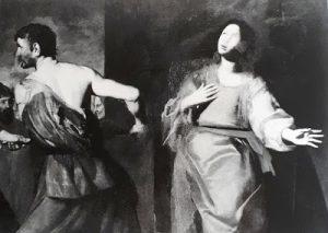 Tav. 9 - Giovanni Ricca - Martirio di S. Barbara - Napoli Museo Civico di Castel Nuovo
