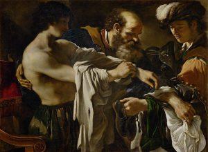 Giovanni Francesco Barbieri detto il Guercino, Il ritorno del figliol prodigo, 1619, Vienna, Kunsthistorisches Museum