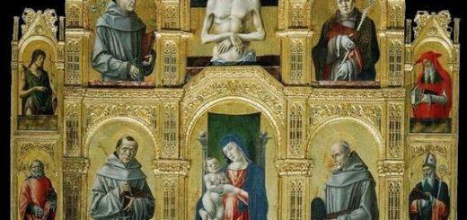 Bartolomeo Vivarini, Polittico Sanseverino, 1477, Morano Calabro, collegiata di Santa Maria Maddalena