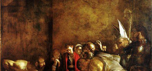 Michelangelo Merisi da Caravaggio, Seppellimento di Santa Lucia, 1608, Siracusa, chiesa di Santa Lucia al Sepolcro