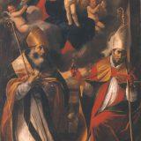 Mattia Preti, Madonna della Purità (Madonna col Bambino e i Ss. Nicola e Gennaro), 1644, Taverna (catanzaro), chiesa di San Domenico