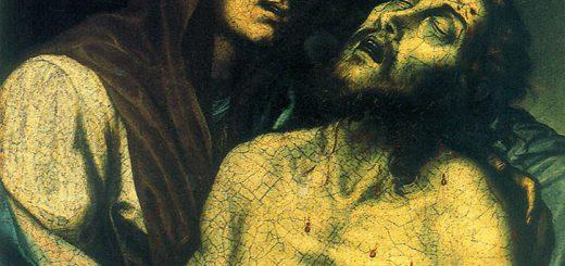 GIovanni De Gregorio detto il Pietrafesa, Pietà, 1608, Potenza, chiesa di San Francesco