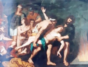 fig. 10 - Giuseppe di Guido, detto Maestro di Fontanarosa - Vittoria degli Ebrei sulle fiamme - 183 - 242