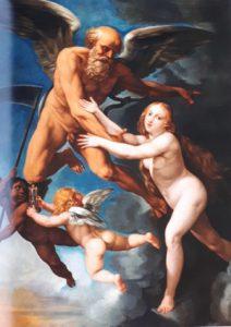 fig. 13 - Giuseppe Cesari - detto Cavalier d'Arpino - Il tempo svela la verita' - 120 - 91