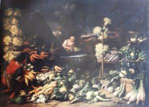 fig. 14 - Francesco Della Questa - Natura morta di vegetali e fiori - 75 - 102