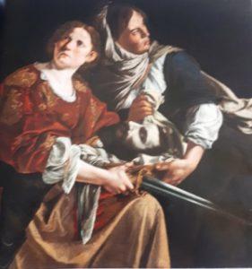 fig. 15 - Artemisia Gentileschi - Giuditta e la sua serva con la testa di Oloferne - 115 - 116