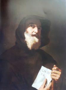fig. 2 - Jusepe de Ribera - San Francesco di Paola - 77 - 63 - firmato e datato 1640